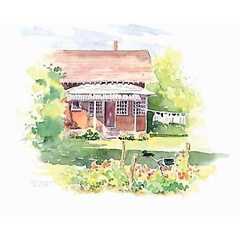 Ridgefield Cottage Poster Print de Gwendolyn Babbitt