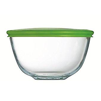 Pyrex Bowl with lid 16 cm - 1.0L (Home , Kitchen , Storage and pantry , Tuppers)