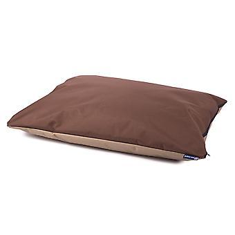 Sueño 70x95cm Duvet impermeable patas marrón/beige