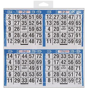 Bingo Game Sheets 125/Pkg- 77735