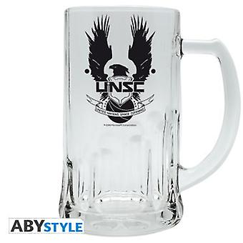 Abysse Halo Tankard Unsc (Home , Babies and Children , Eat , Kitchenware)