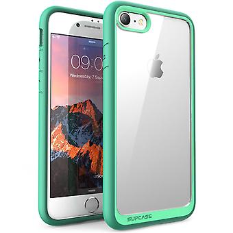 iPhone 7 Case, SUPCASE, Unicorn Beetle Style, ibrido Bumper Custodia protettiva, Scratch Resistant-verde