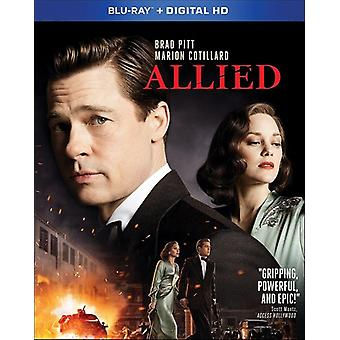 Allied [Blu-ray] USA import