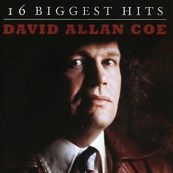 David Allan Coe - 16 största Hits [CD] USA import