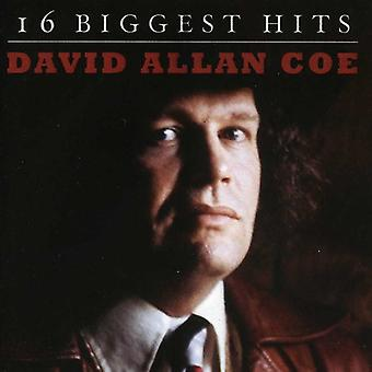 David Allan Coe - 16 Biggest Hits [CD] USA import