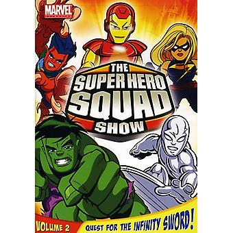Super Hero Squad Show Vol. 2-Quest for the Infinity Sword [DVD] USA import