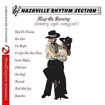 Sekcja rytmiczna Nashville - Nashville sekcja rytmiczna: Vol. 1-Keep na taniec (kraju stylu Swing) [CD] USA import