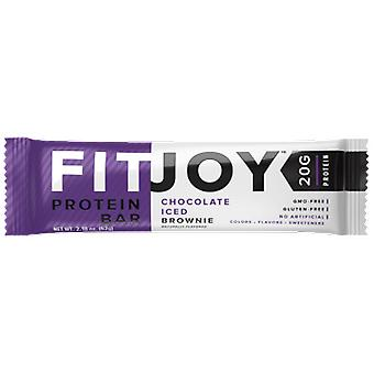 Cellucor FitJoy Chocolate Iced Brownie 62 gr (Sport , Pałeczki)