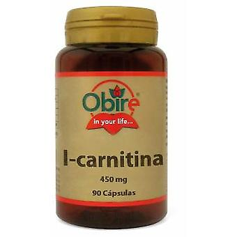 Obire L-Carnitina 450 mg 90 capsule (Dieta e nutrizione , Supplementi)