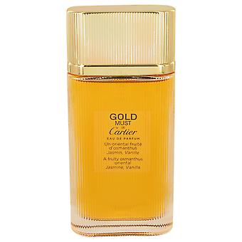 Cartier Women Must De Cartier Gold Eau De Parfum Spray (Tester) By Cartier