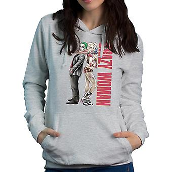 Suicide Squad Pretty Woman Crazy Woman Women's Hooded Sweatshirt