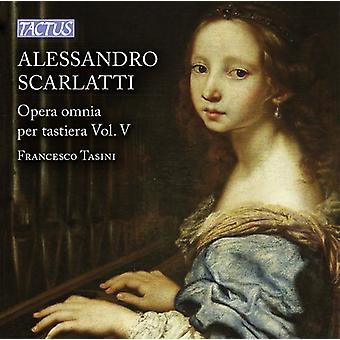 Scarlatti / Tasini - Scarlatti: Opera Omnia pr. Tastiera vol. 5 [CD] USA import