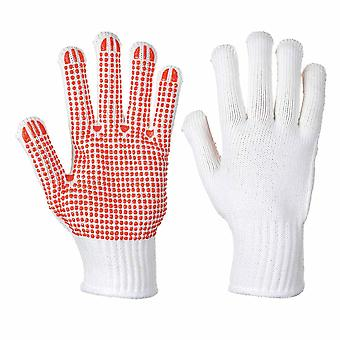 sUw - Heavy Duty Polka Dot Gripper Heat Resist Gloves (3 Pair Pack)
