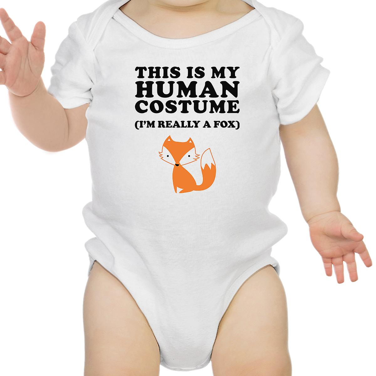 This IS My Human Costume Halloween Baby Bodysuit Funny Infant Bodysuit