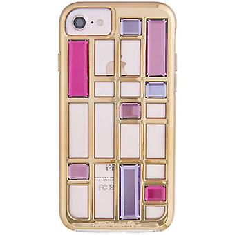 Geval-partner Caged Crystal iPhone 8/7/6s/6 Case - Rose Gold