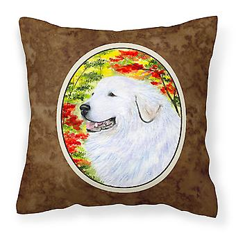 Carolines Treasures  SS8235PW1414 Great Pyrenees Decorative   Canvas Fabric Pill