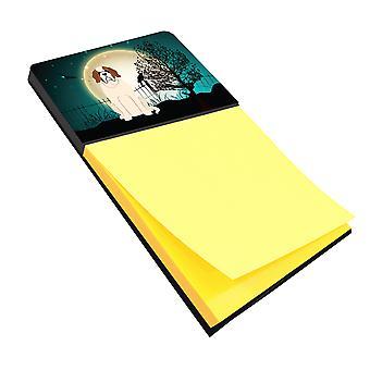 Carolines Treasures  BB2225SN Halloween Scary Saint Bernard Sticky Note Holder