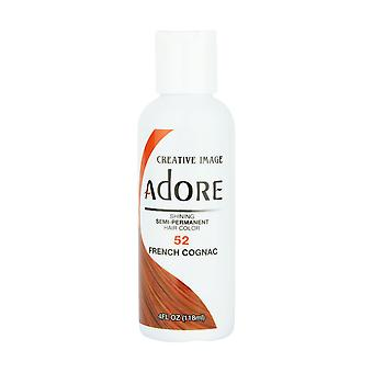Creative Image Adore Shine Semi-Permanent Color 52 French Cognac 118ml