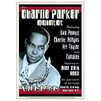 Charlie Parker Quintet Birdland Nyc Poster Print (17 x 24)