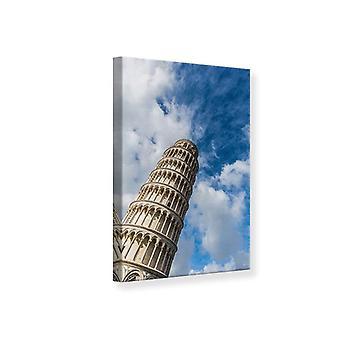 Lærred Udskriv tårn i Pisa