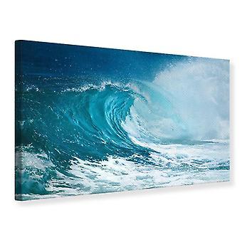 Leinwand drucken die perfekte Welle