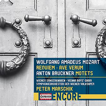 Bruckner / Mozart / Cencic / Ragin /Marschik - Mozart: Requiem & Ave Verum / Bruckner: motetter [CD] USA import