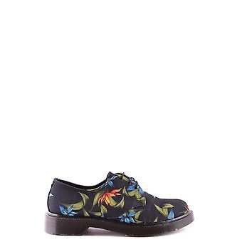 Dr. Martens women's MCBI103007O black fabric lace-up shoes