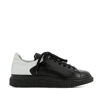Officine creative men's KRACE001DEVOMNEROBIANCA black rubber of sneakers