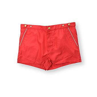 Eleventy men 979BC0002BEA20001 red polyester bath Boxer