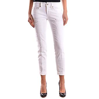 Dondup ladies P692BS009DL32000 white cotton of jeans