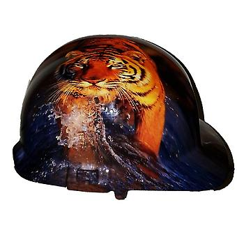 Tiger Themed Hard Hat