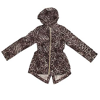 Brave Soul Childrens/Girls Safari Full Zip Parka Jacket