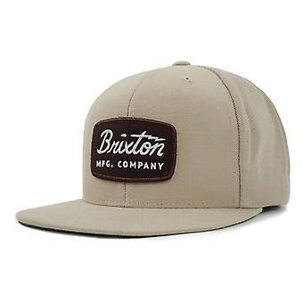 Brixton Jolt Snapback Cap - Wheat