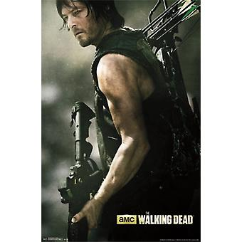 Walking Dead - Daryl Bow Poster Print