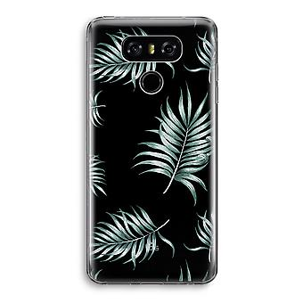 LG G6 Transparent Case - Simple leaves