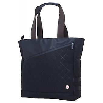 Token Grand Army Quilted Tote Bag - Black
