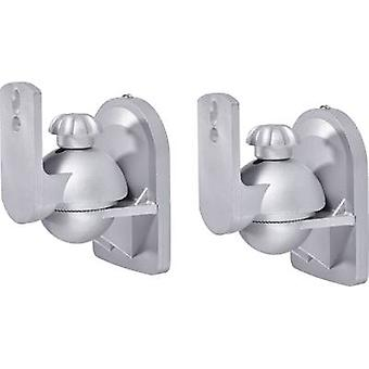 Speaker wall mount Swivelling/tiltable Distance to wall (max.): 6.4 cm