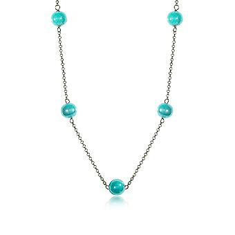 Antica Murrina ladies COA29A59 light blue steel Hall chain
