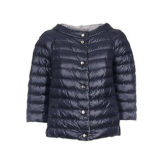 Herno women's PI0769D120179208 Blau polyamide Quilted Jacket