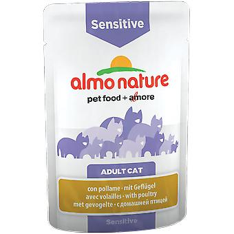 Almo nature Pfc Sensitive (Cats , Cat Food , Wet Food)