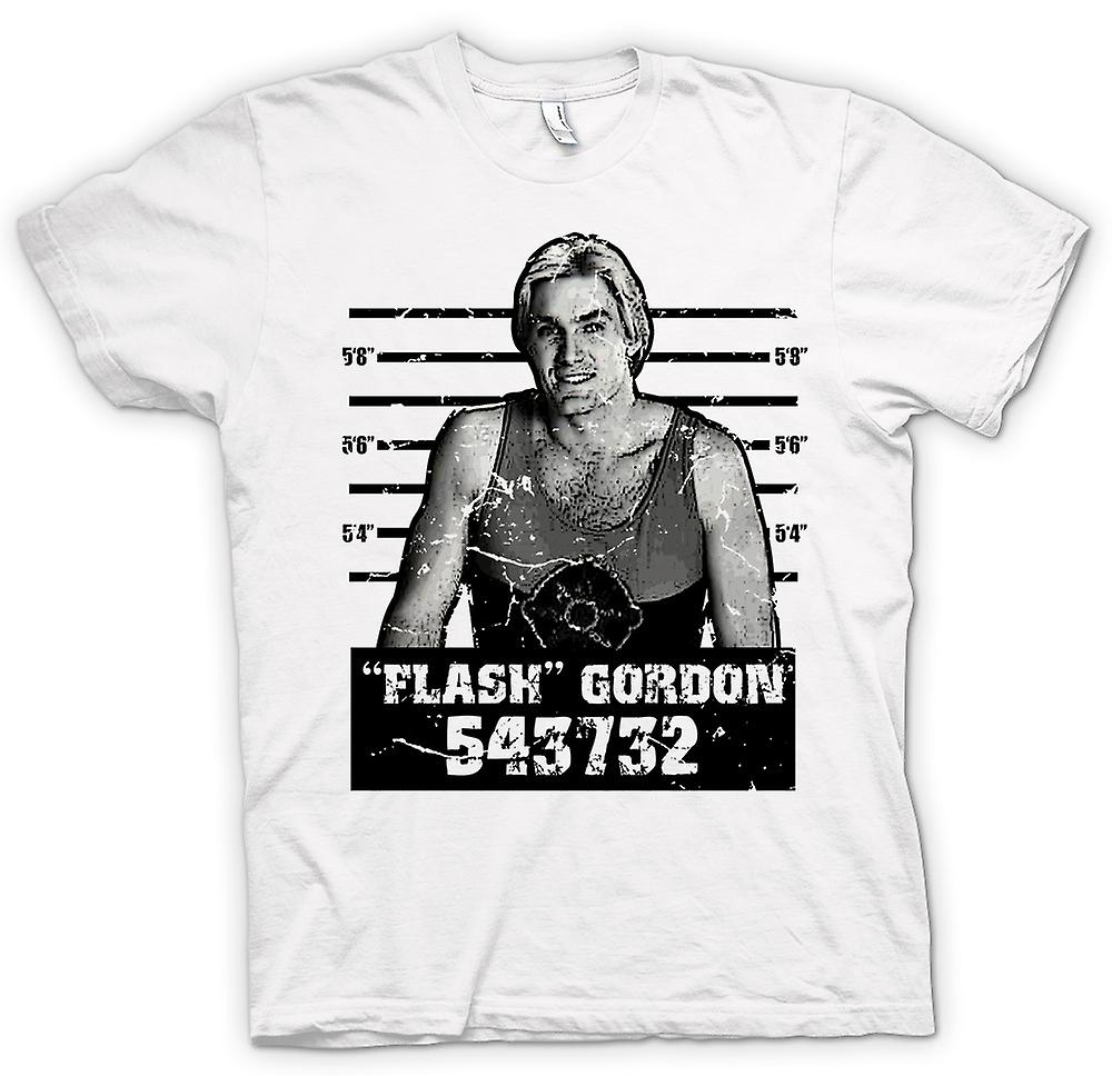 Womens T-shirt - Flash Gordon - Movie - Mug Shot
