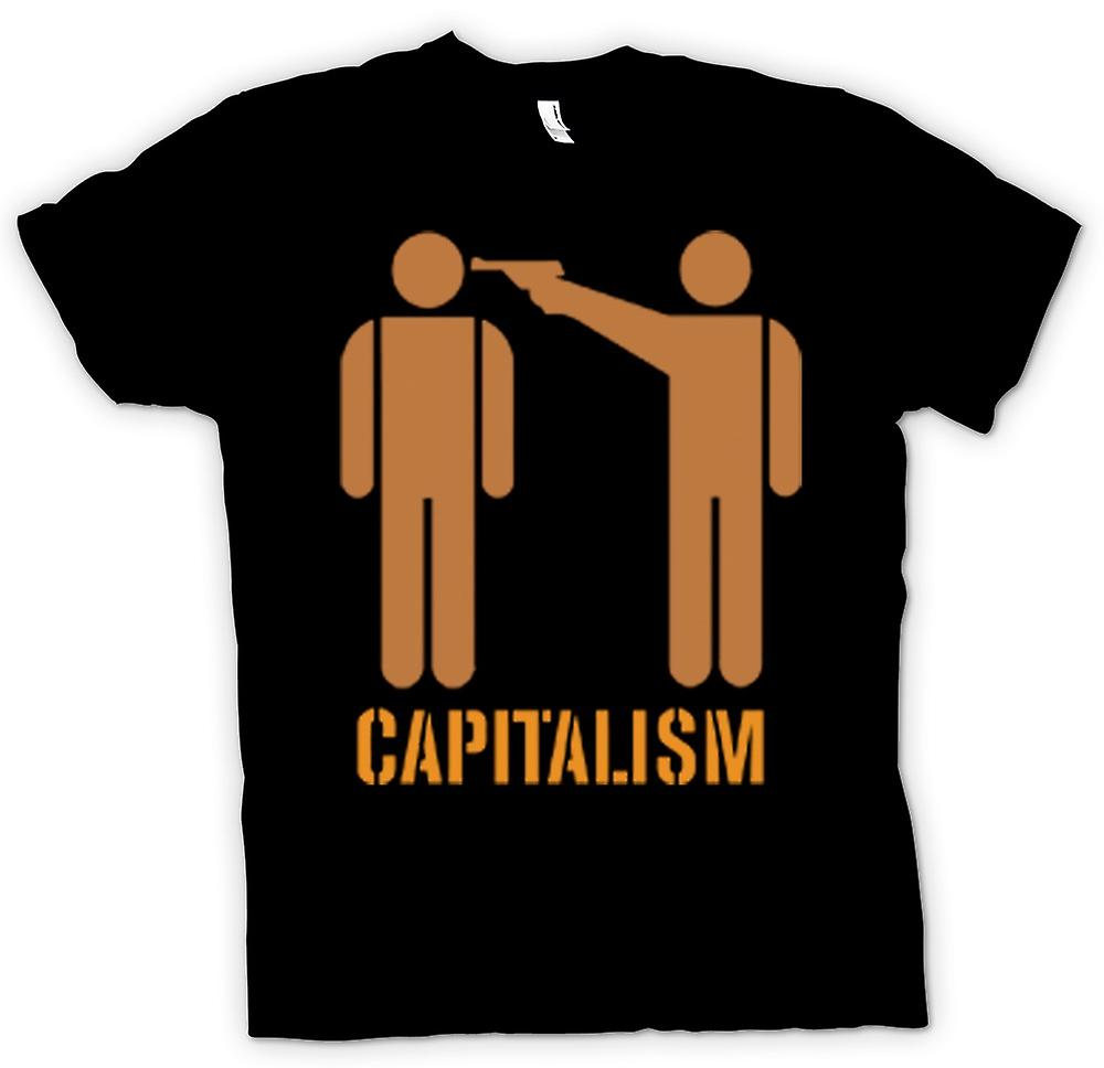 Kids T-shirt - Capitalism Will Kill You - Anti Capitalism