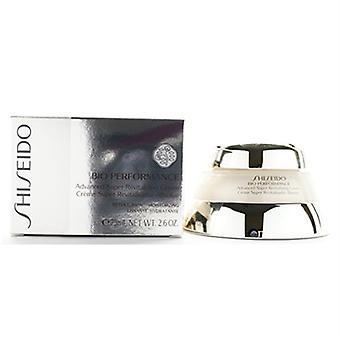 Shiseido био производительность расширенный супер омолаживающий крем 2.5 oz/75 мл