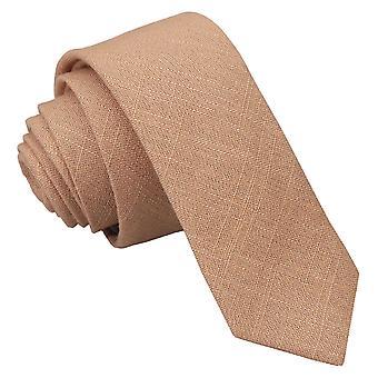 Guld Hopsack linned mager slips