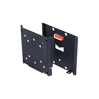 100 x 100 VESA Wallmount Multibrackets 75 x 75 in Black