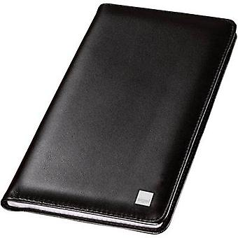 Sigel Business card folder Torino 120 cards (W x H x D) 115 x 195 x 14 mm Black Nappa VZ202