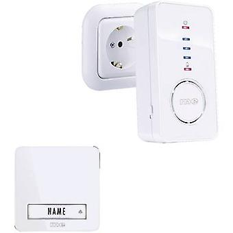 m-e modern-electronics 41098 Wireless door bell Complete set