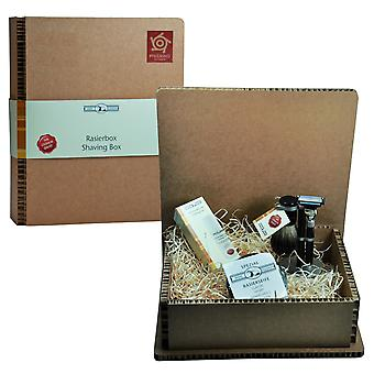 Or toit tailler ensemble en coffret cadeau de cadeau set rasage barbe Kit