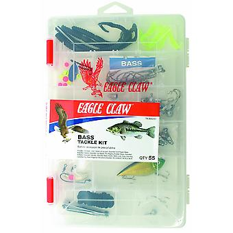 Eagle Claw Bass fiskeutstyr Kit