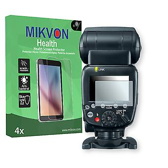 Canon Speedlite 600EX Screen Protector - Mikvon Health (Retail Package with accessories)